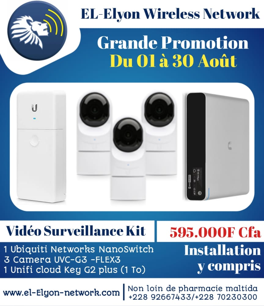 Kit video Security