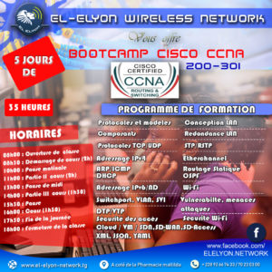 Formation BOOTCAMP, CISCO, CCNA